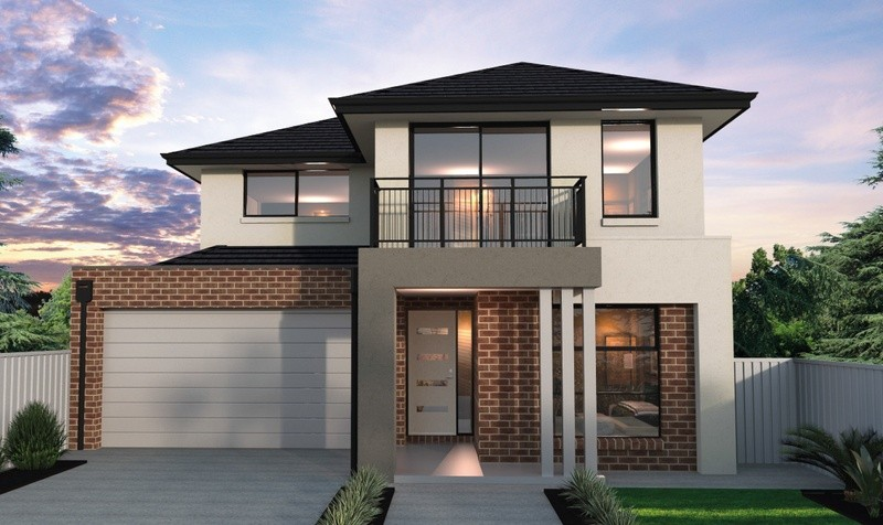 Double storey Contemporary House by Bentley Homes