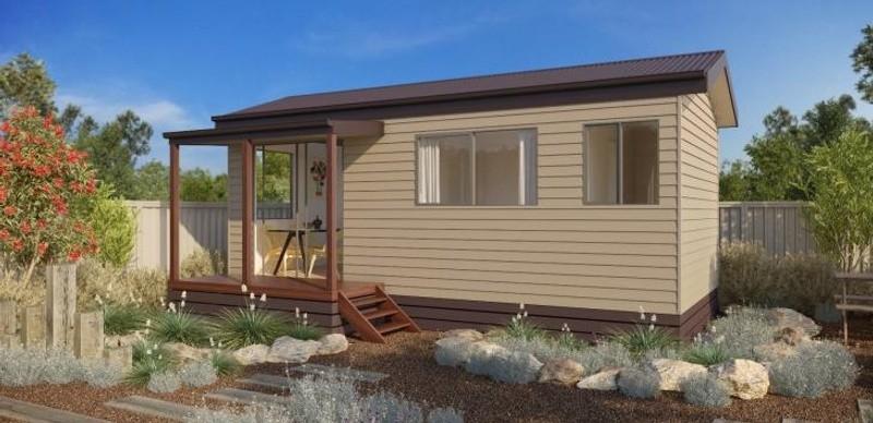 Single storey The Melaleuca Granny Flat by Todd Devine Homes