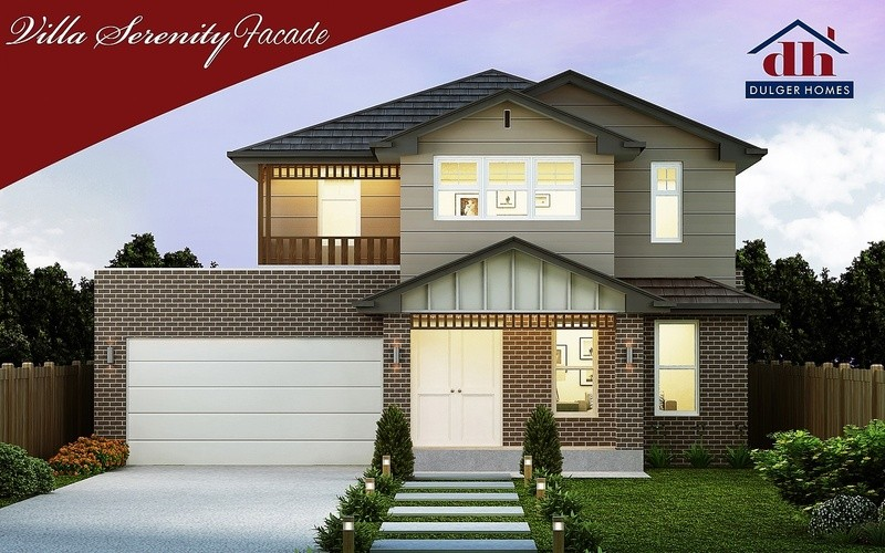 Double storey Sereniity One House by Dulger Homes