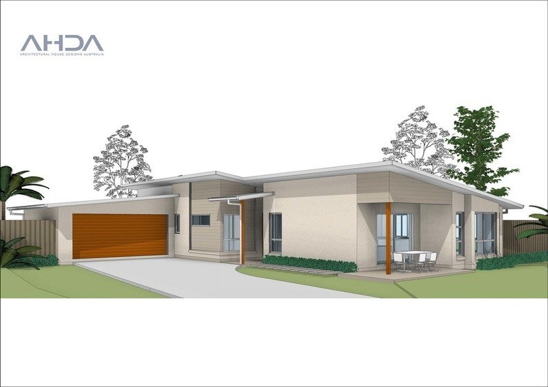 Single storey M5008 House by Architectural House Designs Australia