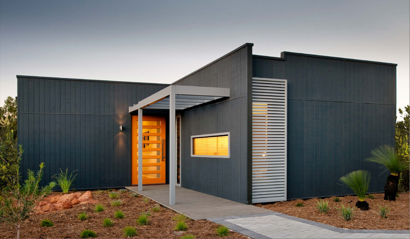 Single storey The Evolution House by TR Homes