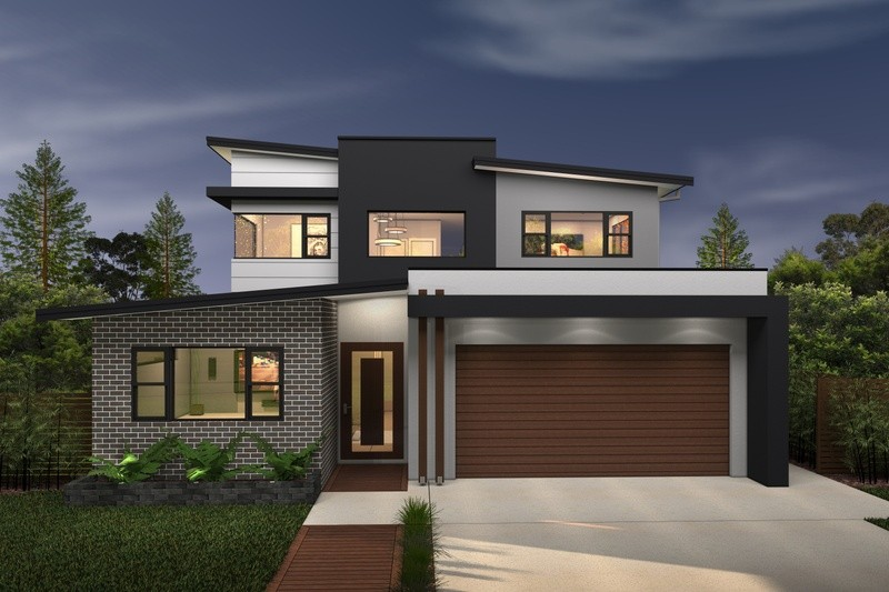 Double storey Duo House by Rex Homes