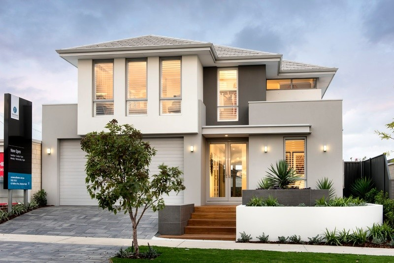 Double storey THE SCULLIN DISPLAY House by in-vogue