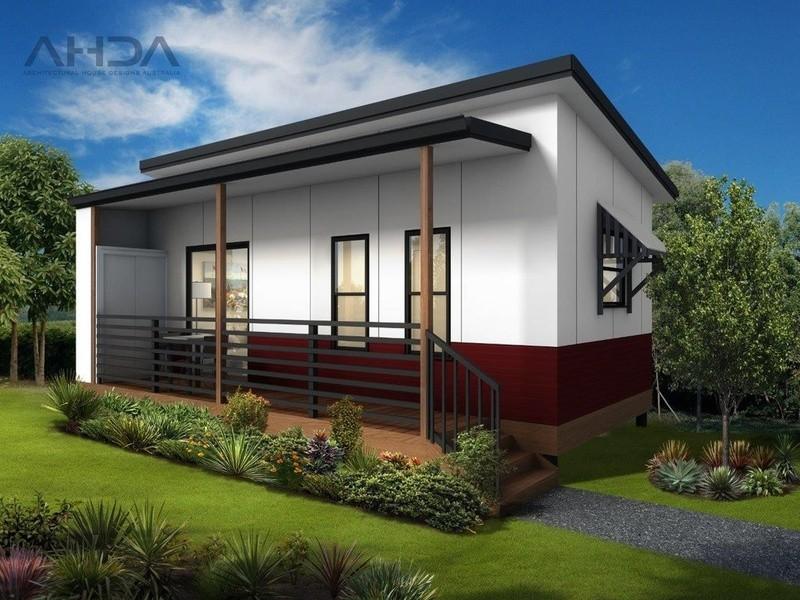 Single storey GF1002 Granny Flat by Architectural House Designs Australia