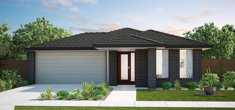 Single storey Sinclair House by Burbank Homes SA