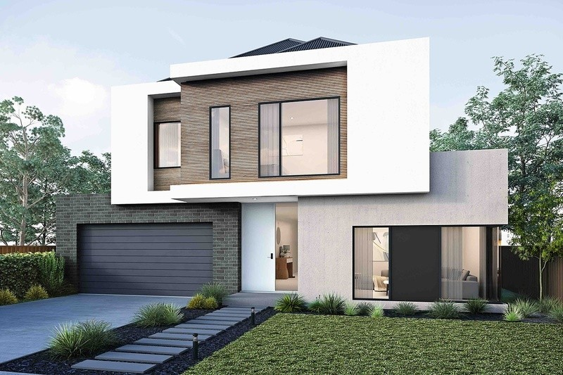 Double storey York House by Arli Homes