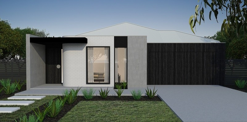 Single storey Mink M1 House design