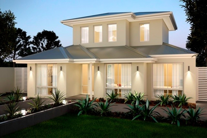 Double storey The Brownlow House by New Level Homes