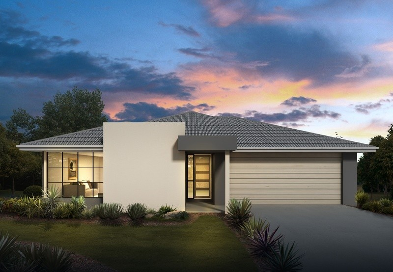 Single storey Nubury 26 House by Orbit Homes