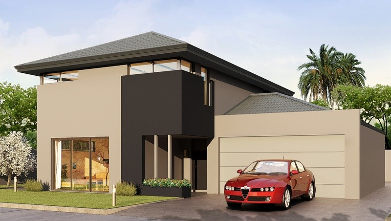 Double storey The Ash House by Domain By Plunkett