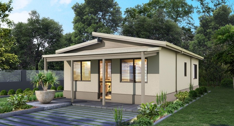 Single storey Retreat 60 Granny Flat by Great Living Homes