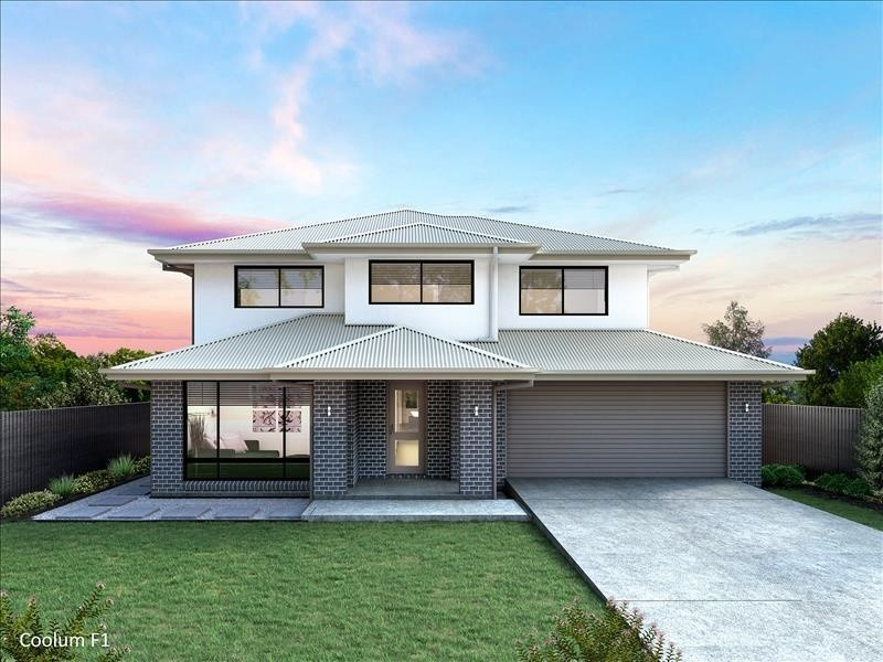 Double storey Coolum 435 - F1 House by Integrity New Homes