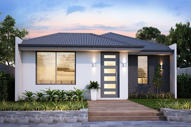 Single storey The Darling House by B1 Homes