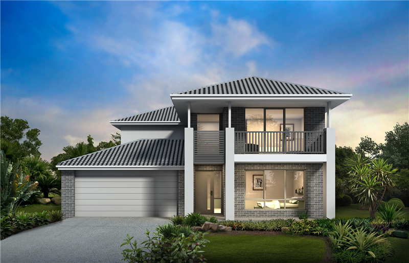 Double storey Aspire 45 House by Orbit Homes
