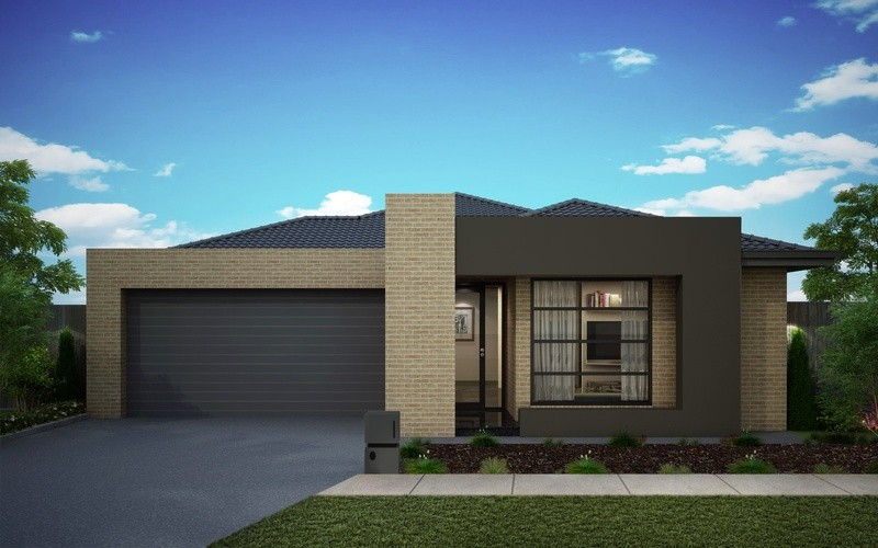 Single storey Platinum 326 House by Omnia Homes