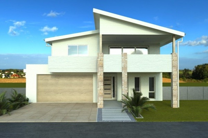 Double storey Easyview House by Langford Jones Homes