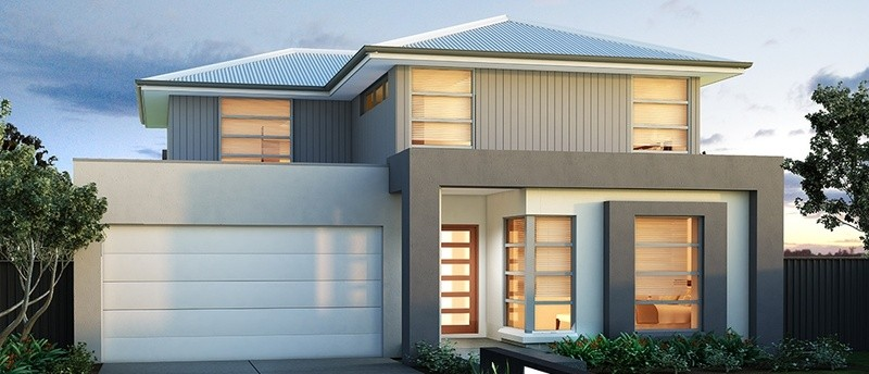 Double storey OTWAY 34 House by Sienna Homes