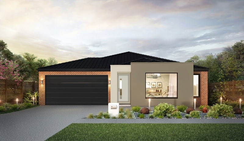 Single storey Avenel House by H&L Victoria