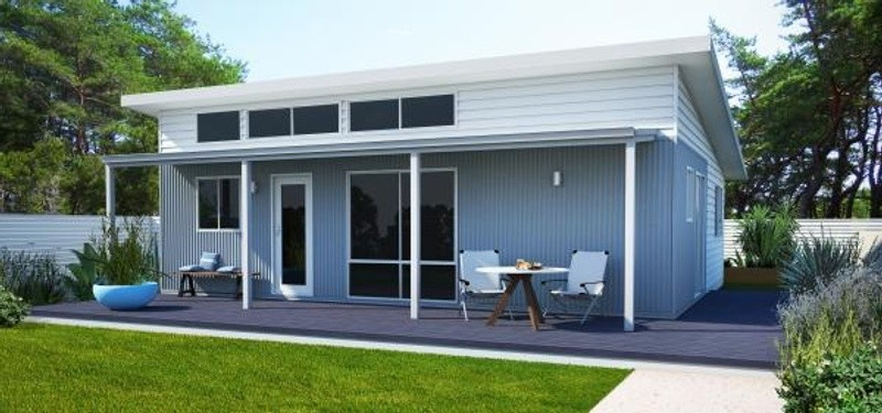 Single storey the coral bay Granny Flat by TR Homes