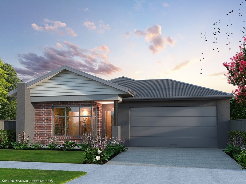 Single storey Display Home Series Family 195 House by Affordable Family Homes VIC