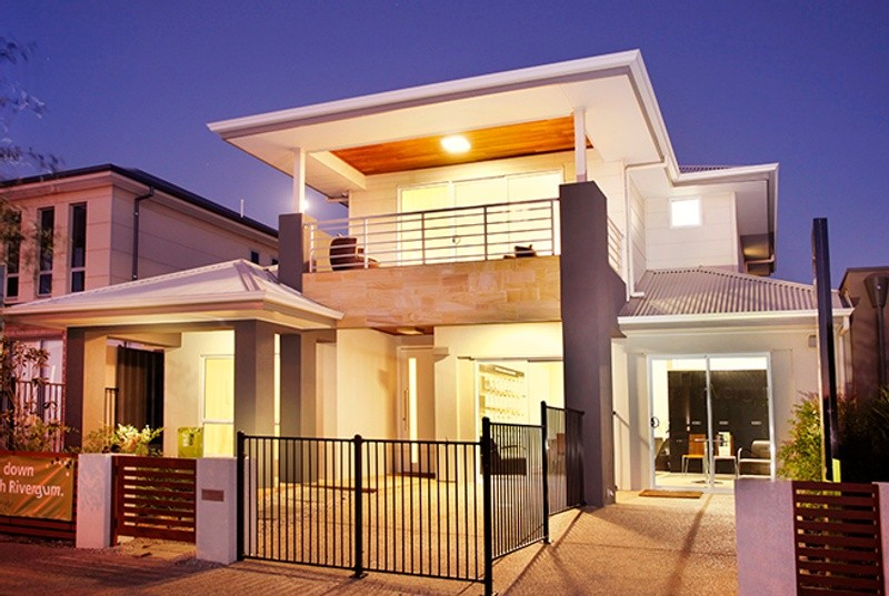 Double storey Rio House by Rivergum Homes SA