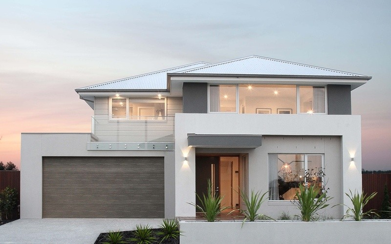 Double storey Caledonia 400 House by Bentley Homes