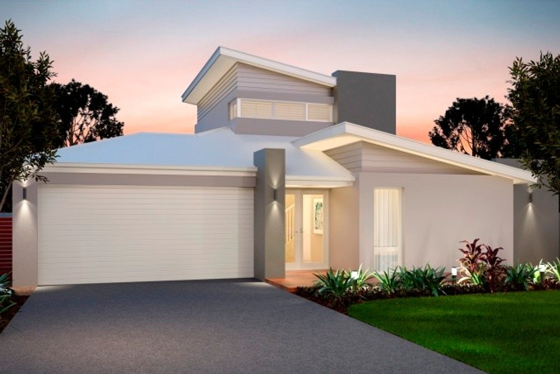Single storey The Simpson House by New Level Homes