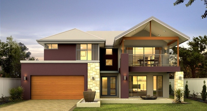 Double storey Coastal House by Great Living Homes
