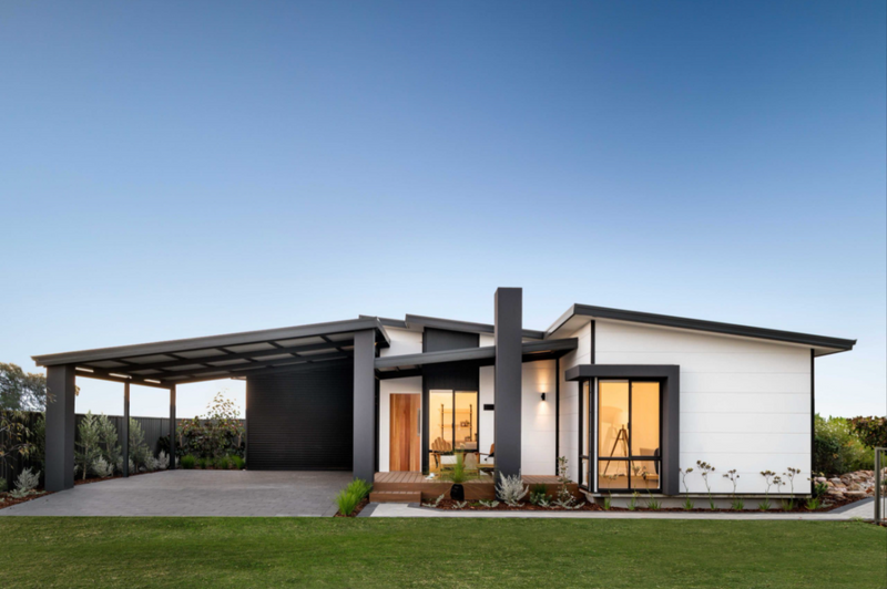 Single storey The Hamelin Bay House by TR Homes