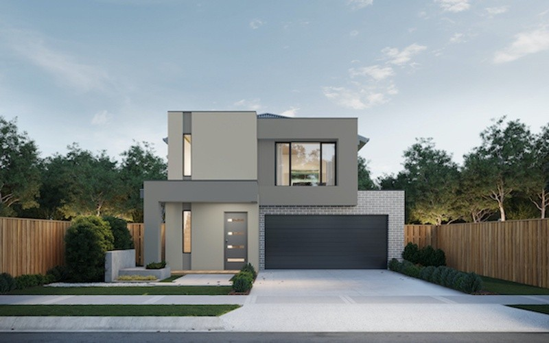 5 beds, 3 baths, 2 cars, 33.40 square facade