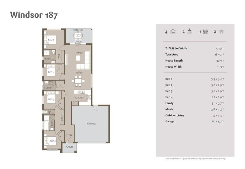 4 beds, 2 baths, 2 cars, 20.10 square main