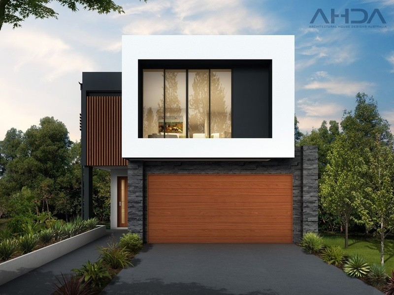 Double storey SL4003 House by Architectural House Designs Australia