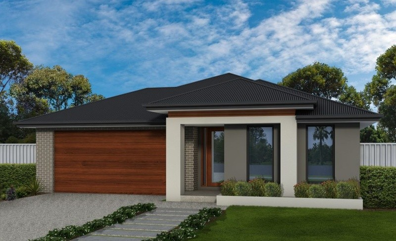 Single storey Ashley House design