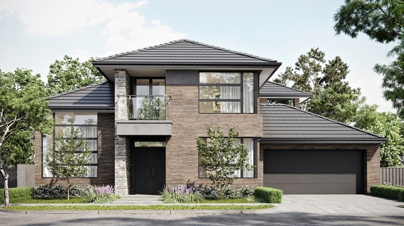 Double storey Mount Waverley House design
