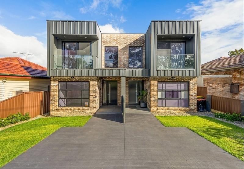 Double storey East Hills custom build - Duplex Dual Occupancy by Inspiring Homes