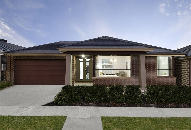 Single storey Beaumont House by Lentini Homes