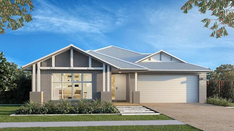 Single storey Claremont House by Beachwood Homes