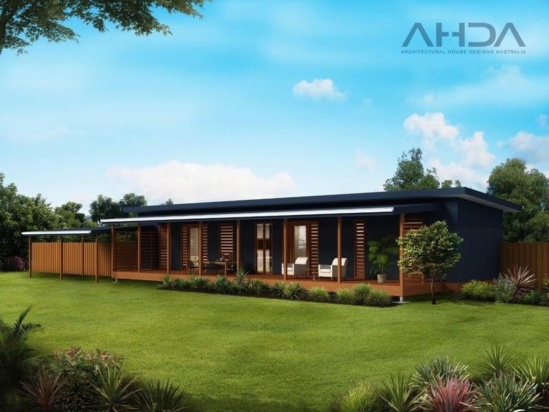 Single storey GF2003 Granny Flat by Architectural House Designs Australia
