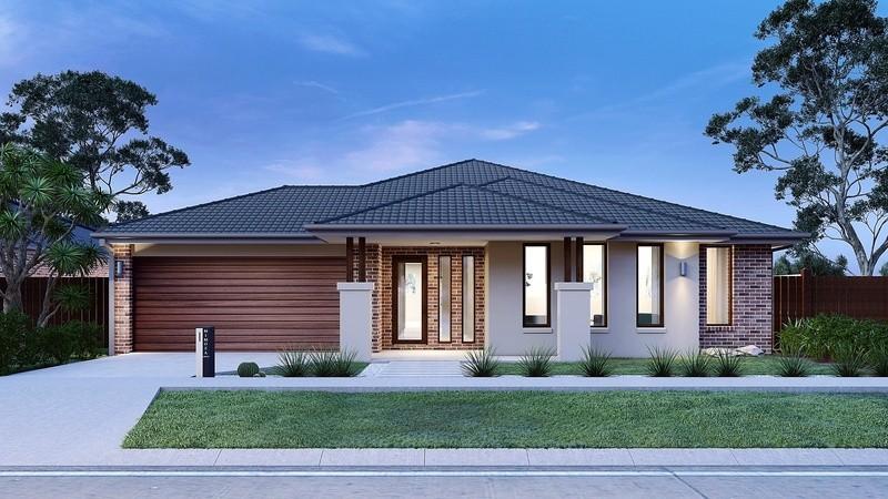 Single storey Mandurah 342 House by Mimosa Homes
