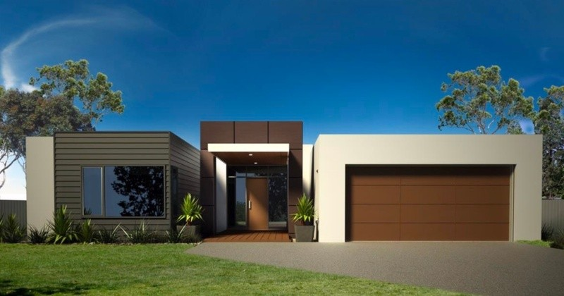 Single storey Hamilton House by Homes4You Queensland