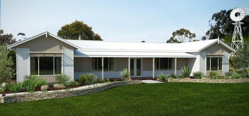 Single storey the oasis House by TR Homes
