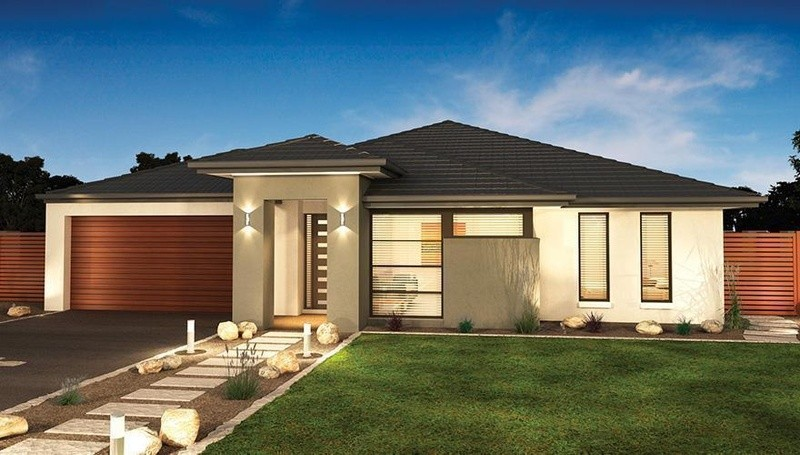 Single storey Beaufort House by Dennis Family Homes