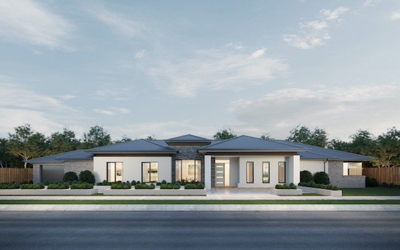 4 beds, 2 baths, 2 cars, 37.10 square facade