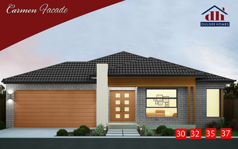 Single storey Carrie Two House by Dulger Homes