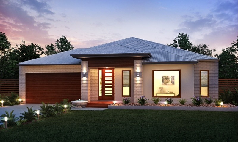 Single storey Twilight House by Rex Homes