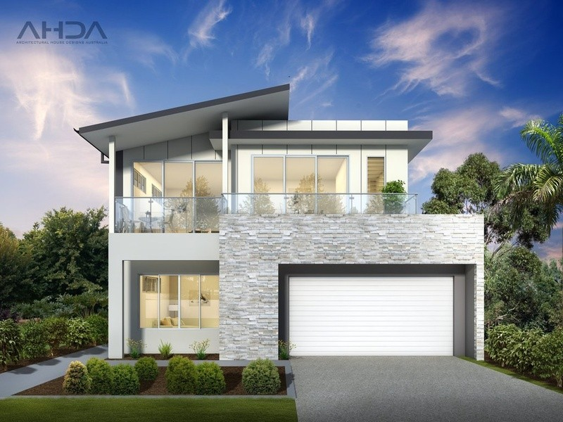 Double storey Modern House by Architectural House Designs Australia