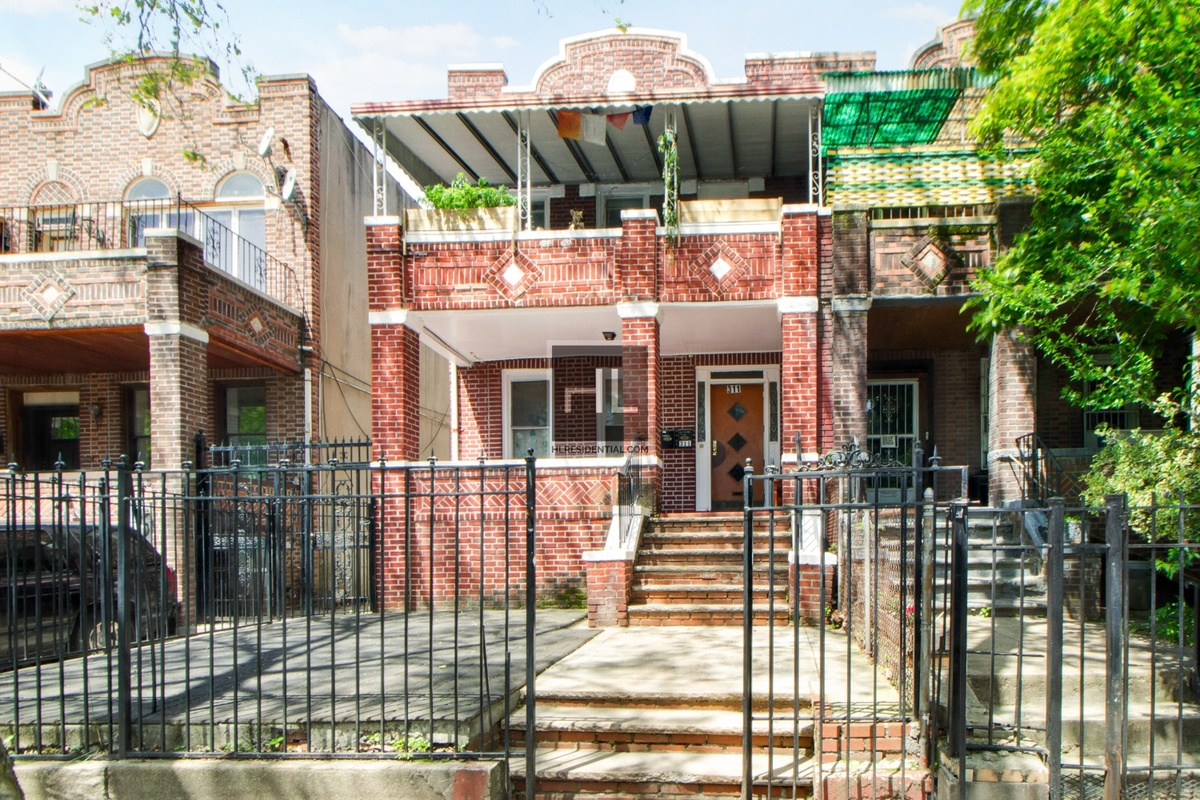 Image for Rare Gem: 2 Family Brick Home W/ 2 Car Garage In Crown Heights